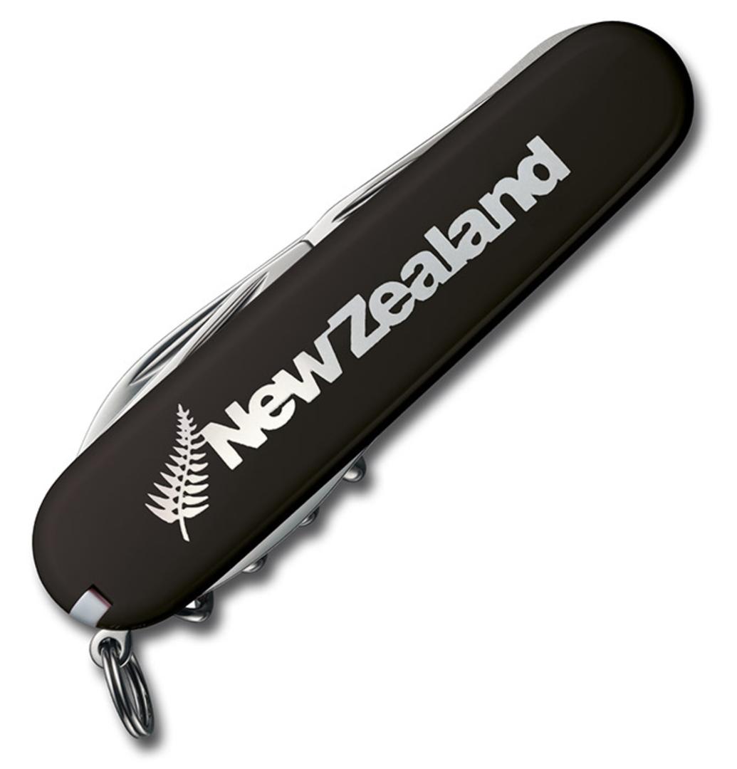 Victorinox Climber Swiss Army Knife NZ Silver Fern image 0