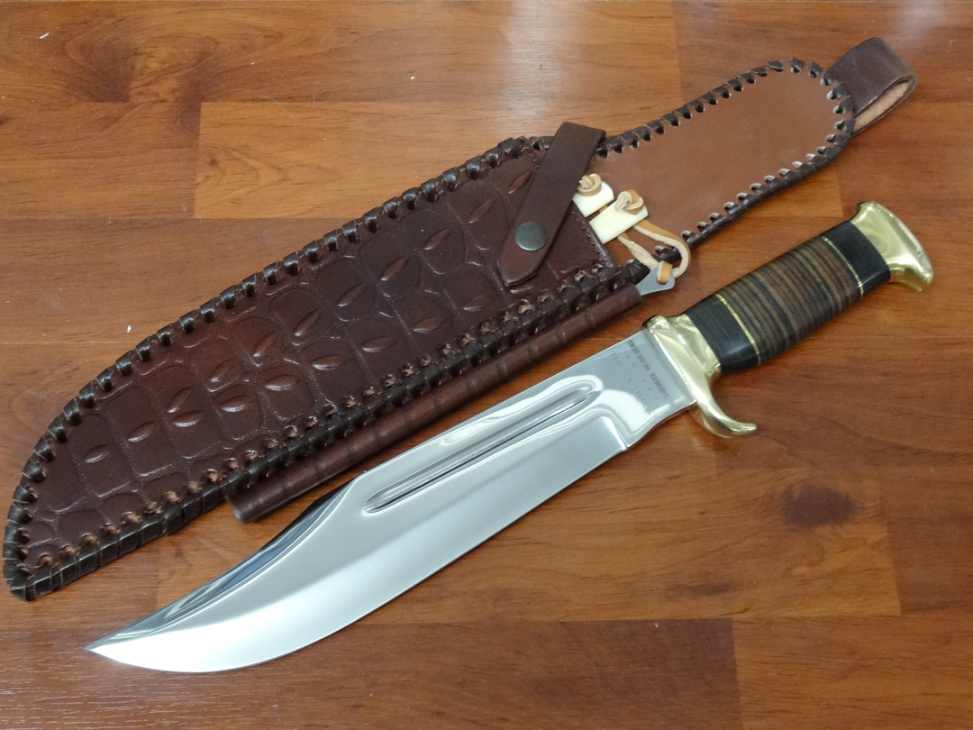 Down Under Knives The Outback Hunting Bowie Knife image 0