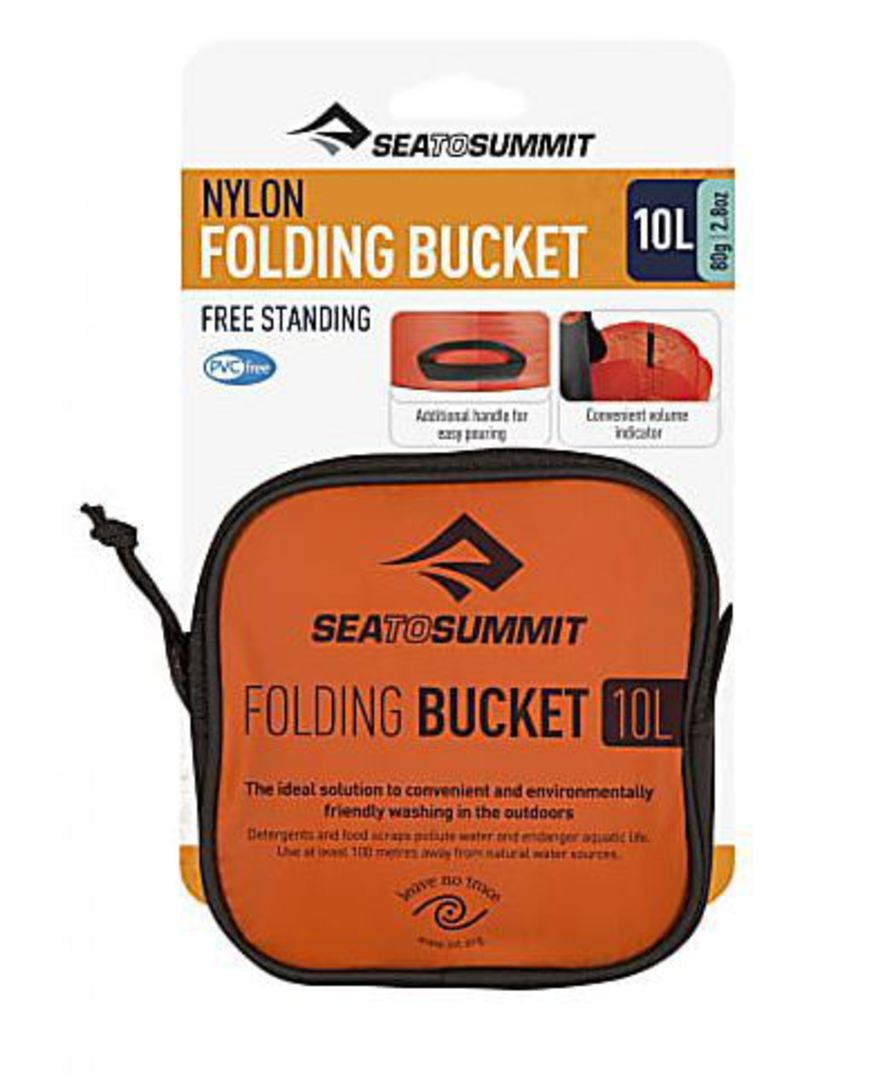 Sea to Summit Nylon Folding Bucket 10L image 0