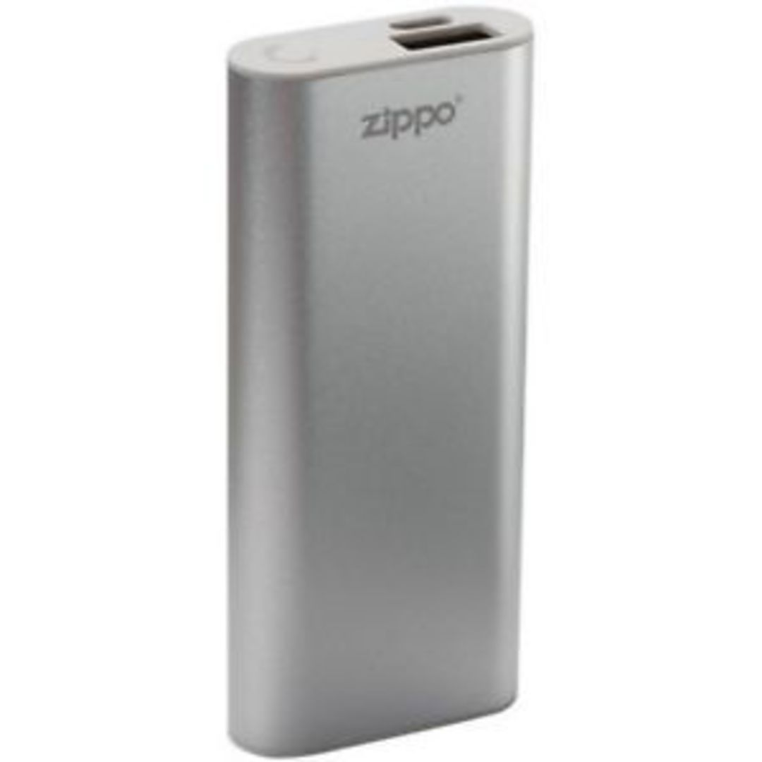 2 X ZIPPO Silver HeatBank™ 3 Rechargeable Hand Warmer image 1