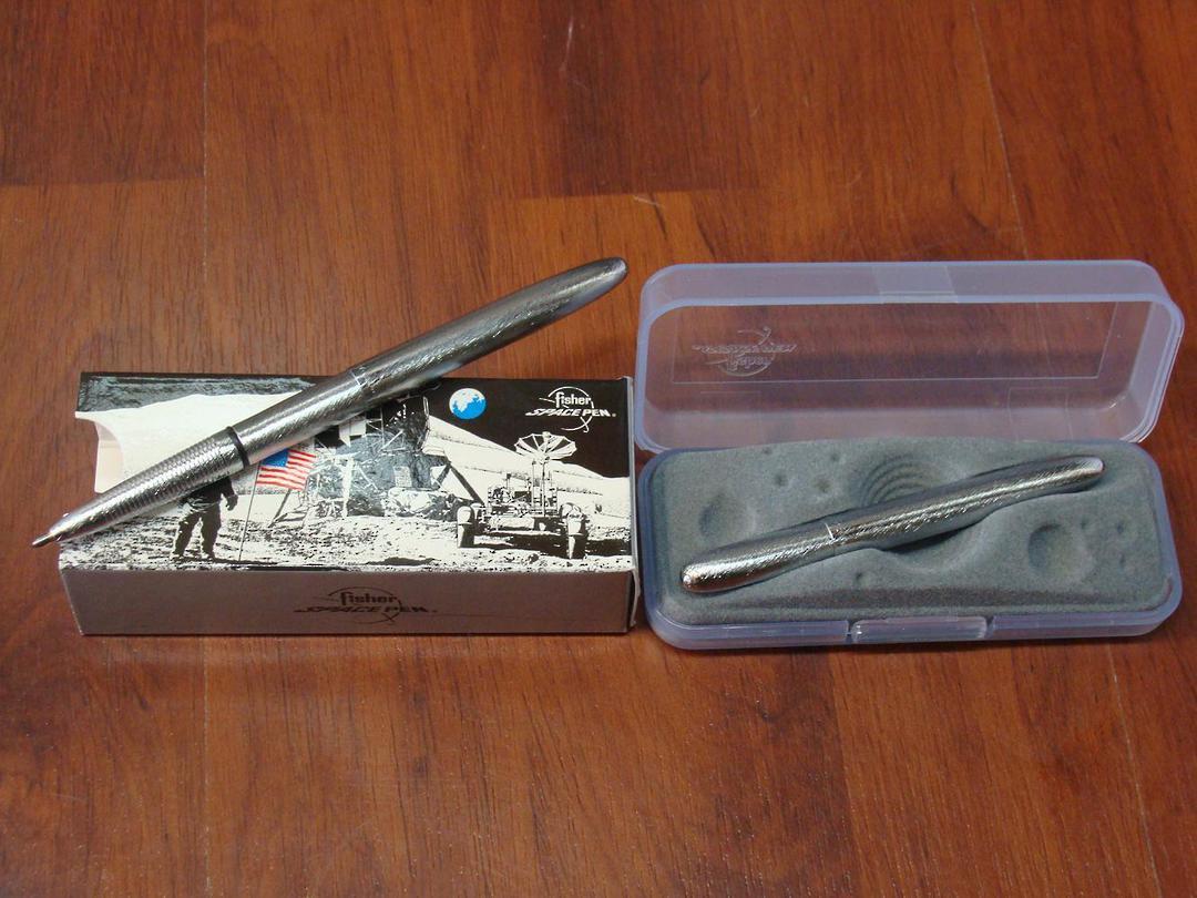 2x Fisher Space Pen Brush Chrome image 0