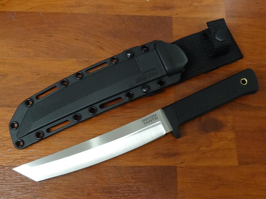 Cold Steel  Recon Tanto Fixed VG-10 San Mai Blade Secure-Ex Sheath image 0