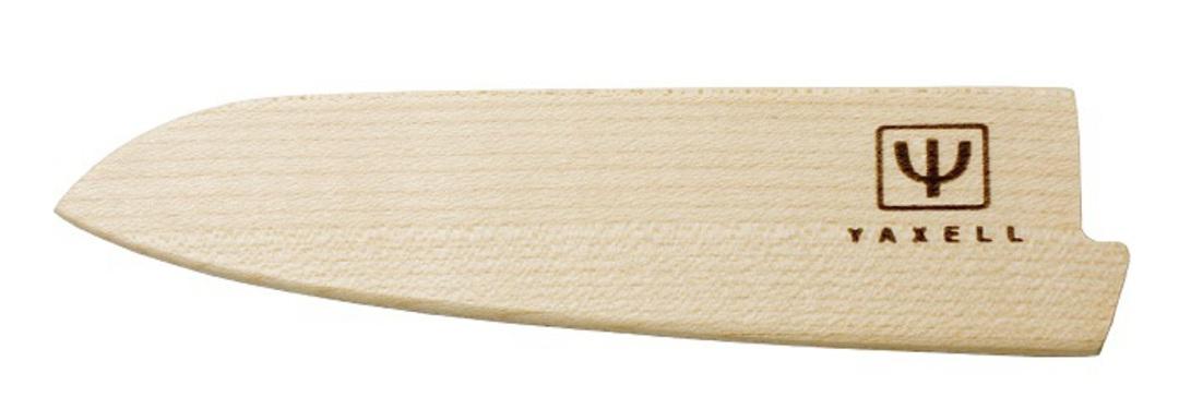 Yaxell Japanese Wooden Katana Sheath, maple for Utility Knife image 0