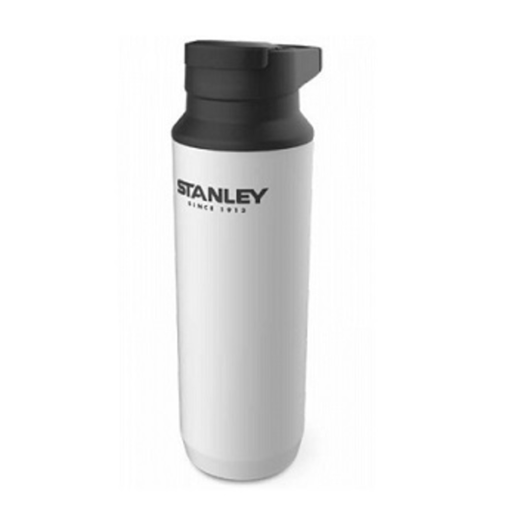 STANLEY ADVENTURE VACUUM SWITCHBACK MUG 16 OZ POLAR WHITE image 0