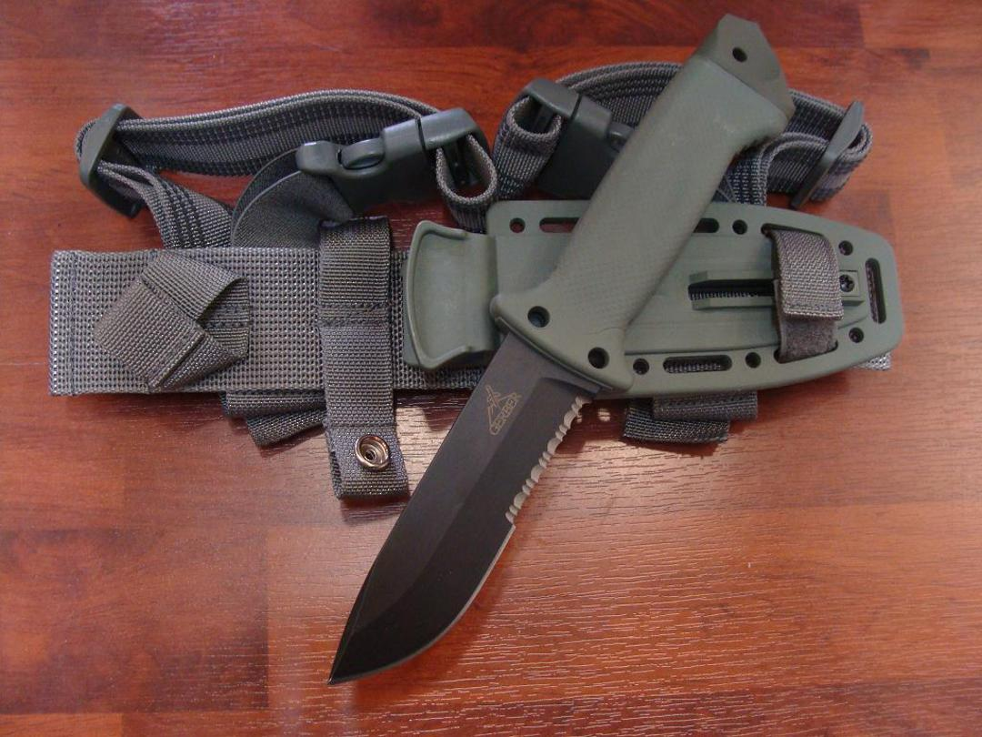 Gerber LMF II Infantry Foliage Green Knife image 0