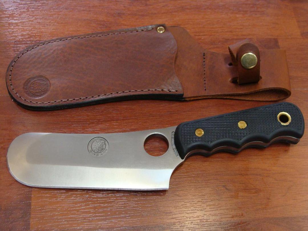 Knives of Alaska Brown Bear Suregrip Cleaver - 1FG image 0