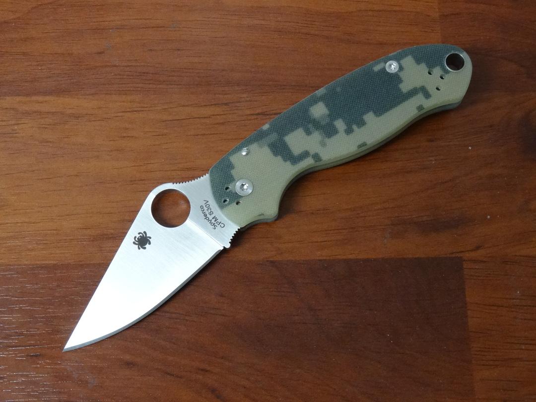 Spyderco Para 3 Folding Knife S30V (Paramilitary 3) Camo image 0