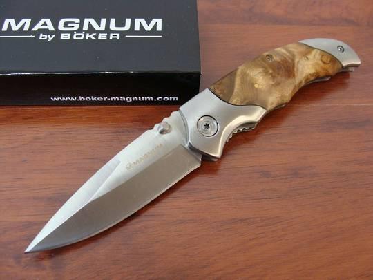 Boker Magnum Hawk Spear Point Blade Work Folding Knife