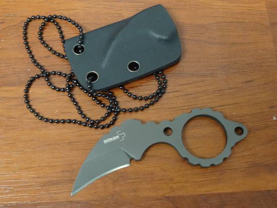 Boker Plus Newton Martin K-BIT Neck Knife  - 02BO030