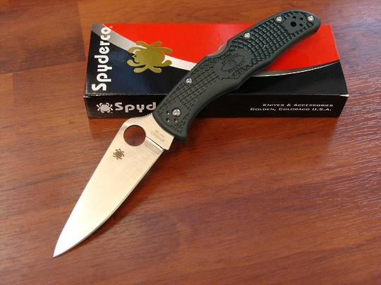 Spyderco Endura 4 ZDP-189 Folding Knife