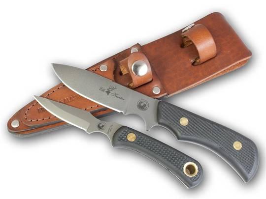 Knives of Alaska Trekker Series Elk Hunter/Cub Bear Combo - Black SureGrip - 198FG