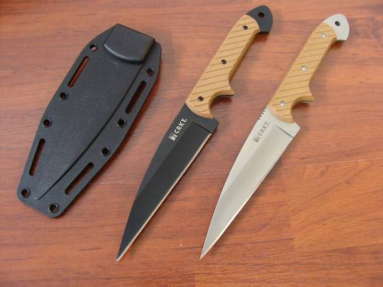 CRKT C/K Dragon Fixed Knife - Tan