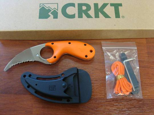 CRKT Bear Claw Blunt Tip Rescue Knife