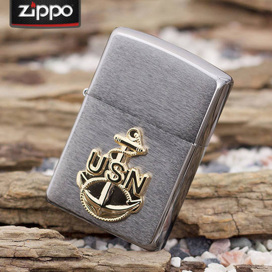 Zippo US Navy Archor Emblem Lighter