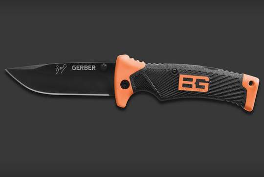 Gerber Bear Grylls Folding Knife w/ sheath