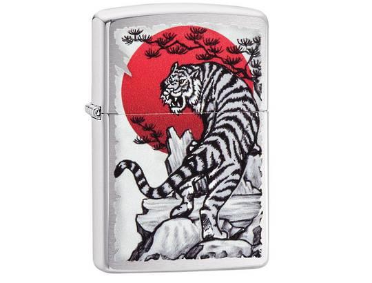 Zippo Asian Tiger Design Lighter
