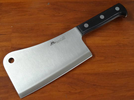 "Due Cigni  ""CLASSICA"" full tang Chinese Cleaver 18cm 860g"