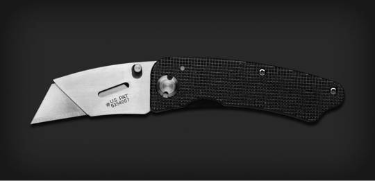 Gerber Edge Aluminum / Box Cutter Knife - 31-000666