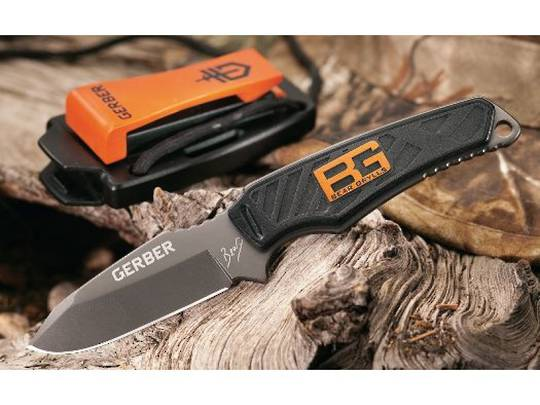 GERBER BEAR GRYLLS ULTRA COMPACT FIXED BLADE KNIFE