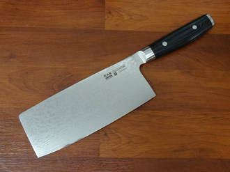 RAN PLUS Japanese  Damascus Chinese Chef's Knife 180mm