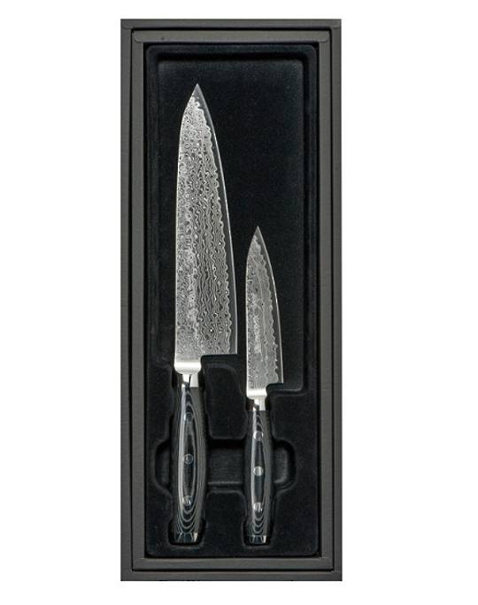 GOU Damascus Chef Knife 2PC Gift Set