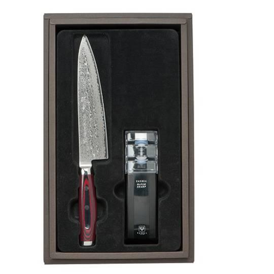 Super GOU Japanese Damascus Chefs Knife 2PC Gift Set