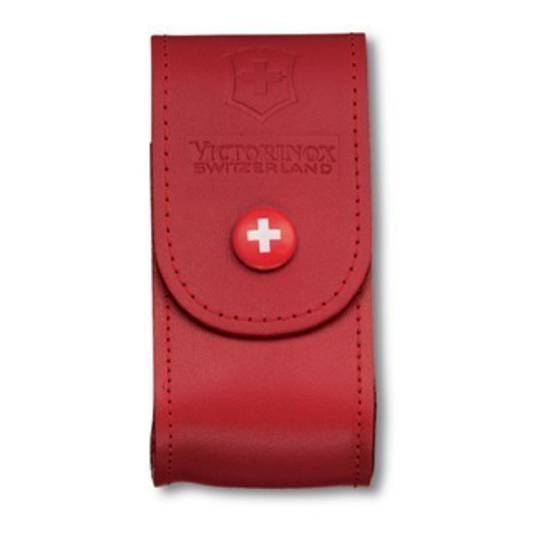 Victorinox Belt Leather Pouch Red