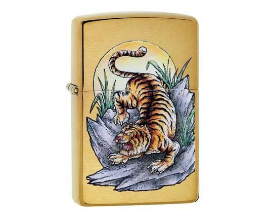 Zippo Tiger Tattoo Design