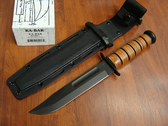 Ka-Bar USMC Fighting Knife - Kydex Sheath