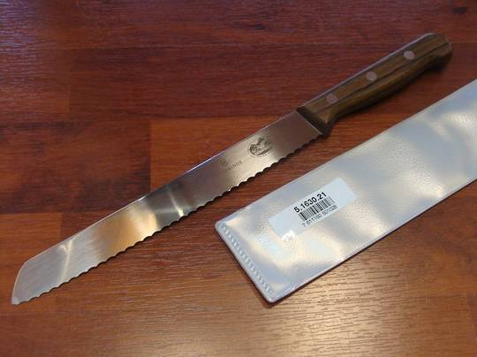 Victorinox Bread Knife 21cm Rose Rosewood