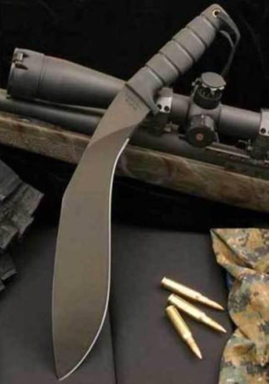 Ontario Survival Kukri Machete Knife