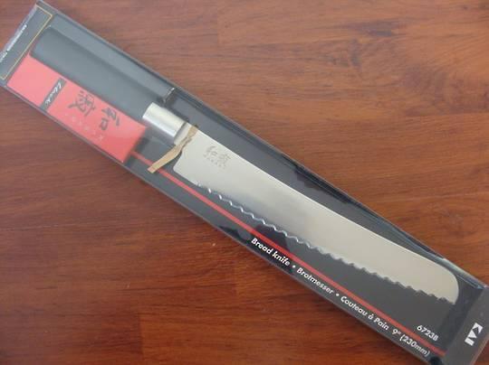 "Kershaw Wasabi Japanese Bread Knife 23cm / 9"""
