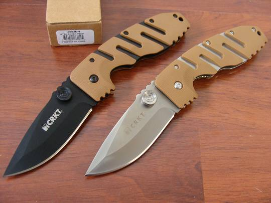 CRKT Ryan Model 7 Linerlock Folding Knife