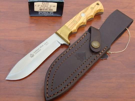 Puma Outdoor Olivewood Handle Knife