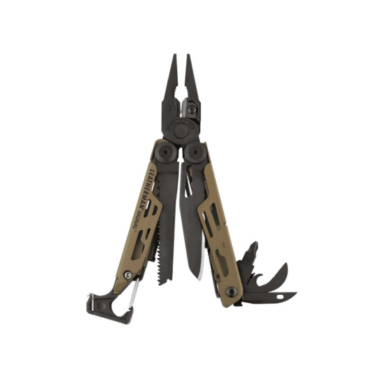 Leatherman Signal Multi-Tool Coyote Tan - Nylon Sheath