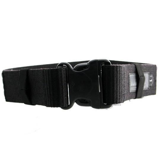 BlackHawk Enhanced Military Web Belt, Black, Large, Up to 43 inch