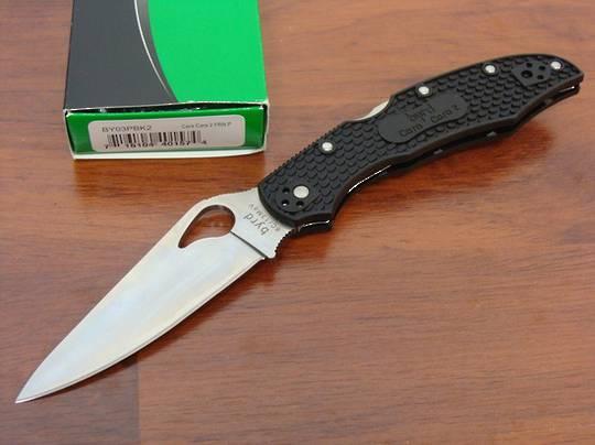 BYRD Cara Cara 2 Folding Knife By Spyderco - BY03PBK2