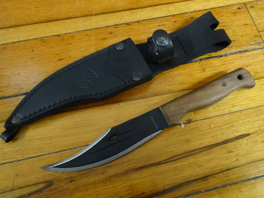 Condor Jungle Bowie II Knife - no box some rust CTK3104HC