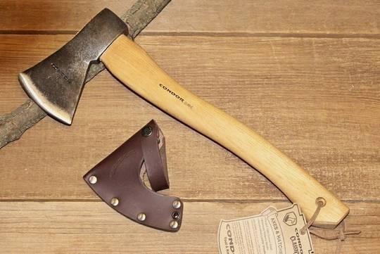 Condor Greenland Pattern Axe, Leather Sheath