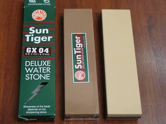 Japanese Sun Tiger Deluxe Combo Water Stone 1000/6000 Grit