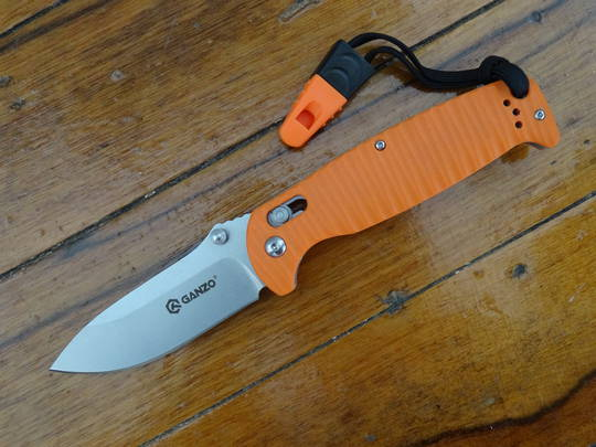 2 X GANZO G7412P-OR-WS Orange