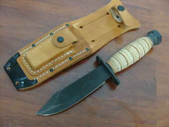 Ontario 499 Force Survival Knife w/Sheath