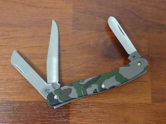 """Case Cutlery Camo Case Caliber Medium Stockman 3-5/8"""" Closed - 18340"""