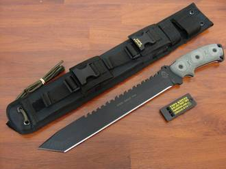 Tops Steel Eagle Tanto Fixed Knife