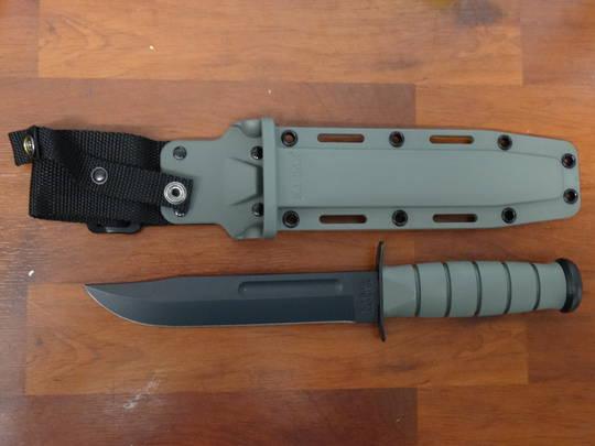 KA-BAR Foliage Green Fixed Blade Fighting Knife