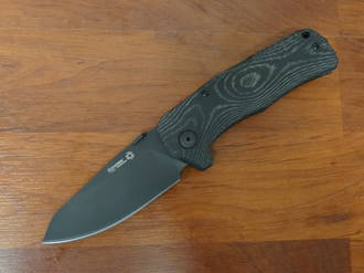 LionSteel TM1 MB Folding Sleipner Steel Blade Micarta Handle