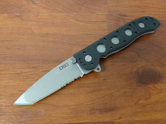 CRKT M16-12Z TANTO WITH TRIPLE POINT SERRATIONS FOLDING KNIFE