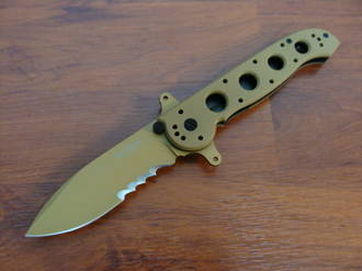 CRKT M21-14DSFG Desert Tan Handle Special Forces G10