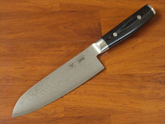 RAN Japanese DAMASCUS SANTOKU KNIFE 165mm