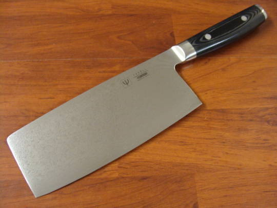 RAN Japanese DAMASCUS CHINESE CLEAVER KNIFE 180MM